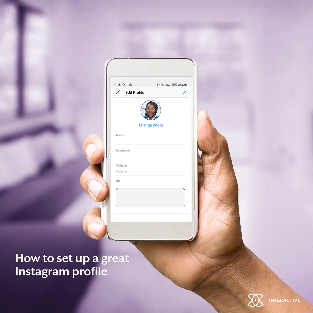 How To Set Up A Great Instagram Profile - Interactive CT